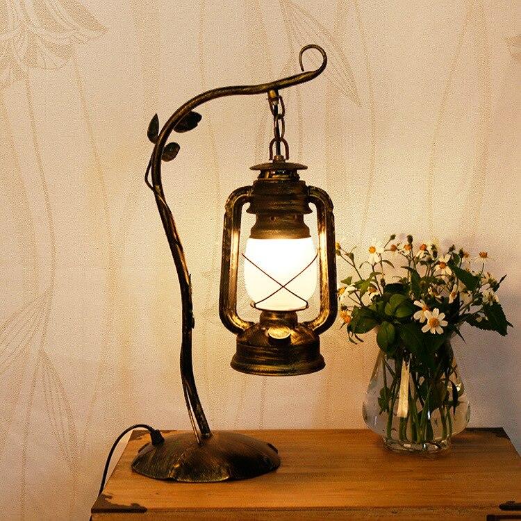 TUDA 22X46 cm Paralume In Vetro Lampada Da Tavolo in Stile Contemporaneo Lampada Da Tavolo Lampada Da Tavolo A LED Home Decor Per La Camera Da Letto decorazione della Lampada E27