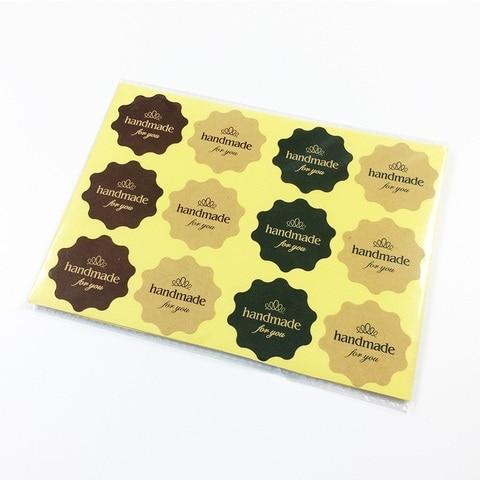 para etiqueta de presente scrapbooking adesivos 3 cores