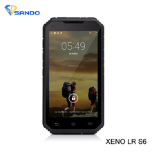 Original LR S6 lp68 Rugged Phone Android 4.4.2 3G Smartphone MTK6582 Quad Core 1GB RAM 8GB ROM Bluetooth PTT IGPS Waterproof