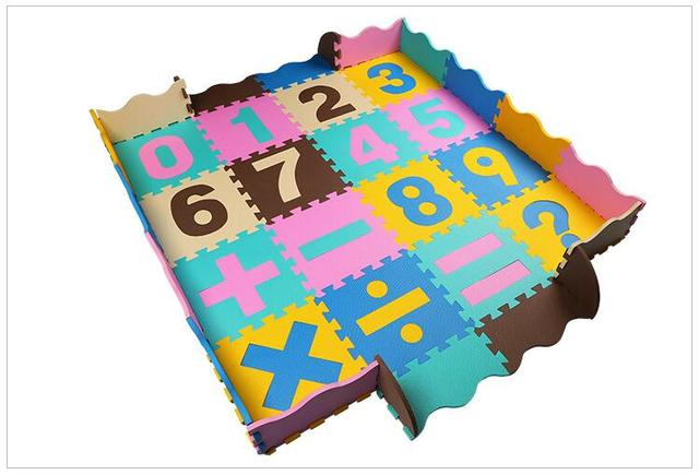 36pcs a set baby jigsaw puzzle mats with sides nontoxic foam floor mat pad