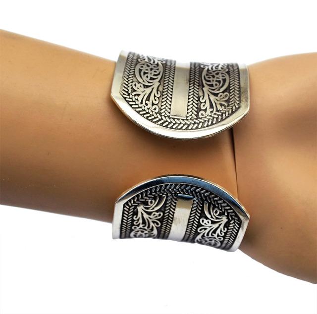 Eco-Friendly Vintage Cuff Bracelet