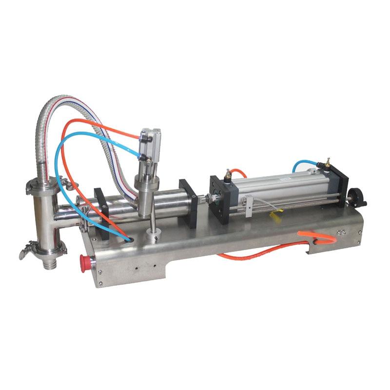 SHENLIN 1000ML filling machine syrup sauce filler beverage chemical cosmetic oil filling machine pneumatic filler semi