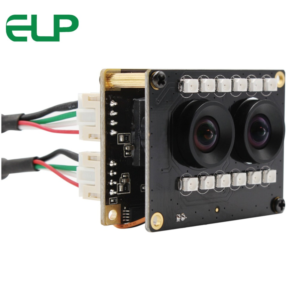 WDR Camera Module MJPEG 1920 1080 AR0230 Face Recognition Bioassay Dual Lens Camera Module