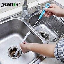 Гибкая 70 см кухонная щетка для чистки канализации Гибкая ванная раковина ванна туалет для сливной трубы инструменты для чистки Щетка Очиститель