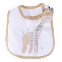 Baby Infants Kids Bibs Baby Lunch Bibs Cute Towel 3 Layer Waterproof1.702(China)