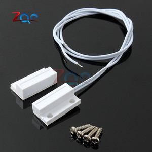 Image 5 - 5 Sets MC38 Wired Door Window Sensor N/C N/O Switch Magnetic Alarm 330mm Length 100V DC Normally Closed/Opened for Home Safe