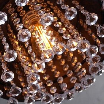 בציר מנורת לופט נברשת תאורה מודרנית קריסטל תליון תליית אורות לבית מלון מסעדת קישוט