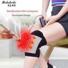 купить Outdoor Sports Kneepad USB Electric Heating Knee Pad Winter Thermal Therapy Arthritis Pain Relief Support Brace Protector D50 онлайн