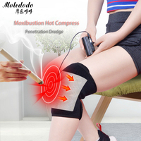 Outdoor Sports Kneepad USB Electric Heating Knee Pad Winter Thermal Therapy Arthritis Pain Relief Support Brace Protector D50