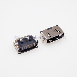 50 pièces 19Pin SMT HDMI Jack Type court interface Positive 4 pied fixe