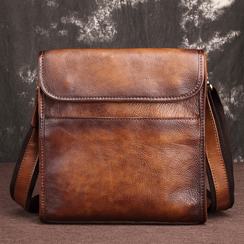 First Layer Cowhide Briefcase Messenger Male Bag Travel High Quality Famous Brand Genuine Leather Men Cross Body Shoulder BagsFirst Layer Cowhide Briefcase Messenger Male Bag Travel High Quality Famous Brand Genuine Leather Men Cross Body Shoulder Bags