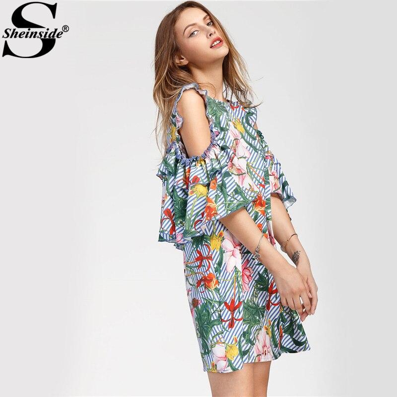 Женское платье Sheinside 2017