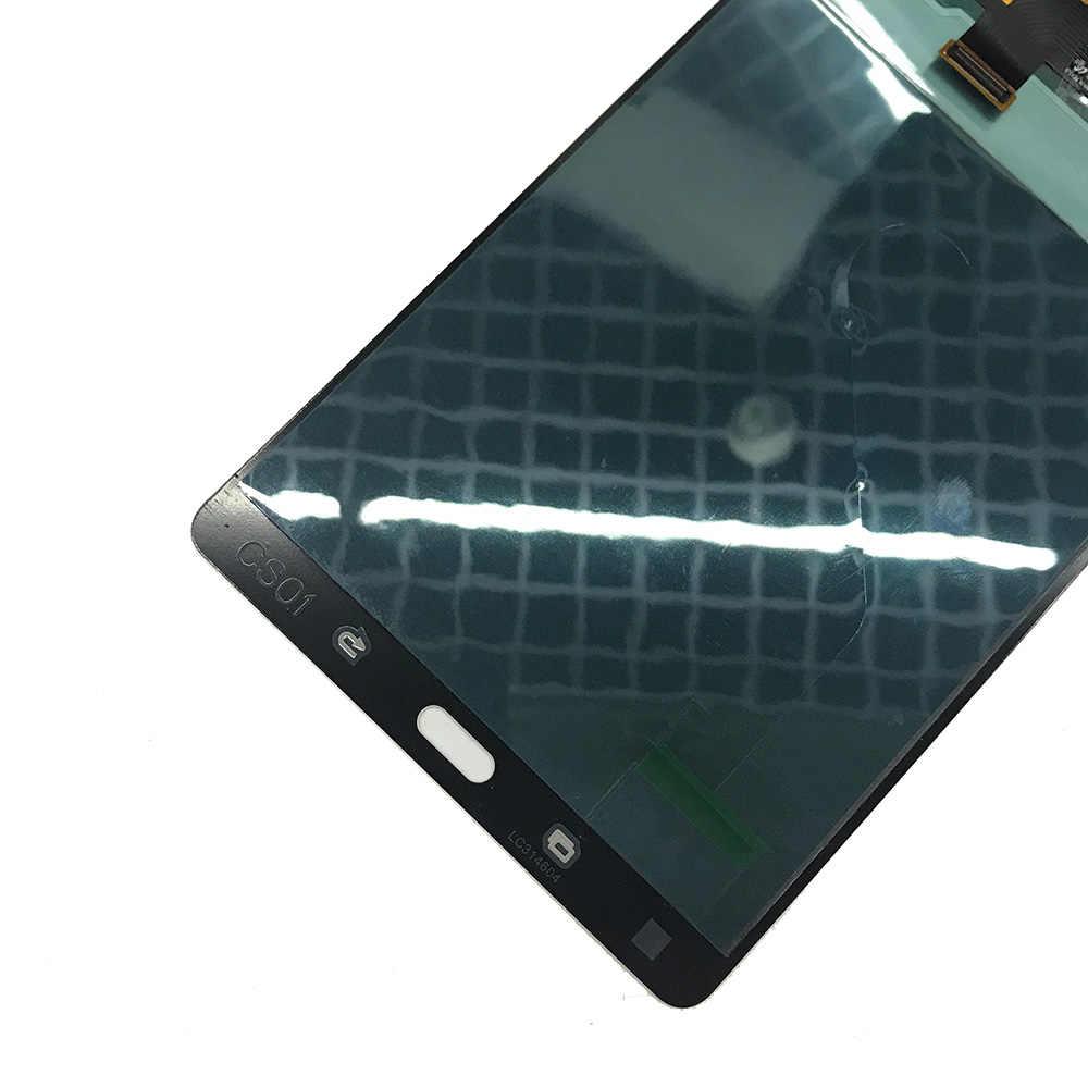 اختبار قرص شاشات Lcd لسامسونج غالاكسي تبويب S 8.4 T700 T705 SM-T700 SM-T705 شاشة الكريستال السائل محول الأرقام بشاشة تعمل بلمس إطار الجمعية إصلاح