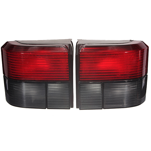 Pai Transporter T4 Caravelle Smoked Red Tail Rear Light Lamp For VW Left & Right Passenger Driver