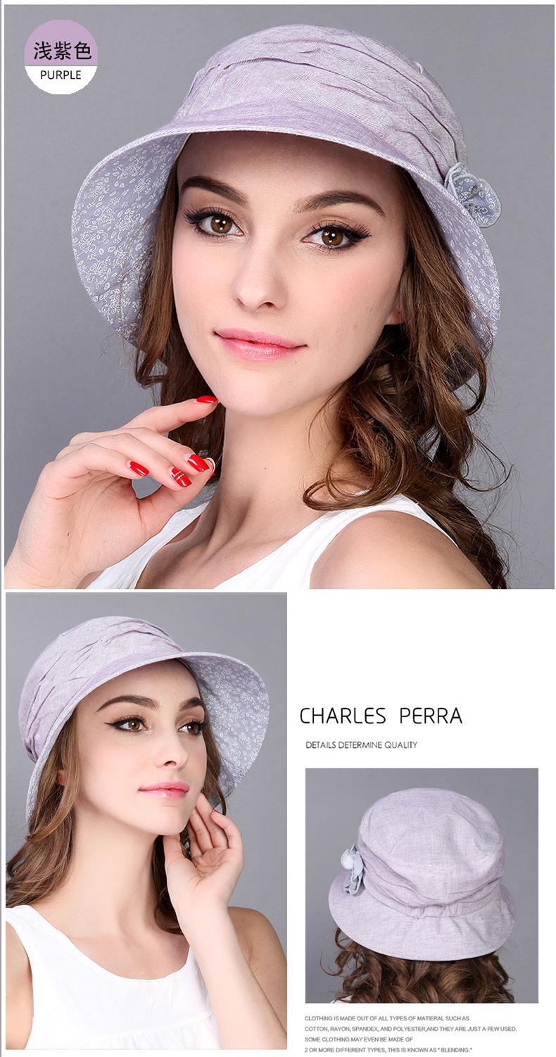 a474be6a Summer Spring Summer Hat New Arrival Women Hat Folding Korean Style Outdoor  Sun Cap Leisure Sunscreen Travel Cap