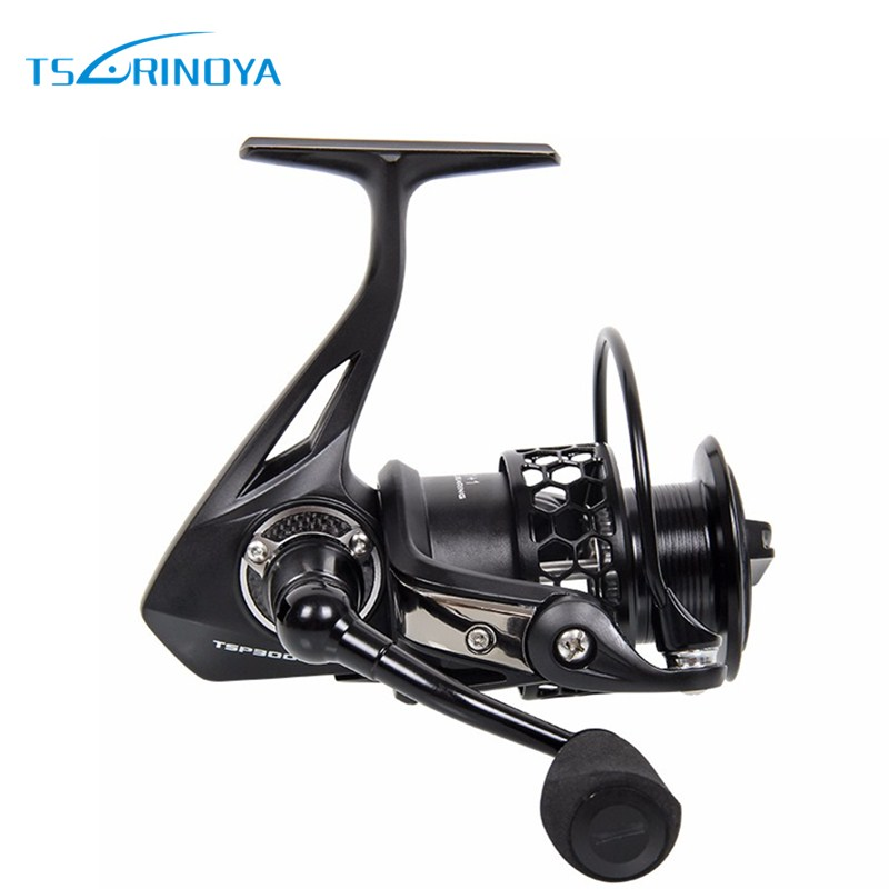 Tsurinoya TSP3000 Spinning Fishing Reel 11+1BB/ 5.2:1 Full Metal Max Drag: 8kg Jig Ocean Boat Lure Reels Carretes Pesca Molinete tsurinoya tsp2000 spinning fishing reel with spare spool 11 1bb 5 2 1 full metal jig boat lure reels carretes pesca molinete