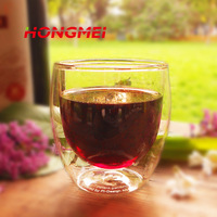BODUMM Brand Heat Resistant Europe Style Double Wall Glass Coffee Cup Mug Tea Cup Glassware High