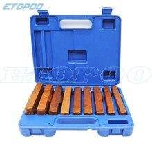 Высокое качество 150x9 мм 18 шт 9 пар прецизионный параллельный набор, Параллелизм: 0,01 мм, параллельный блок калибровочный набор