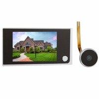 Hot Sale 3 5 Digital LCD Door Viewer 2 0 Megapixel Camera Video Monitor Wholesale F4344A