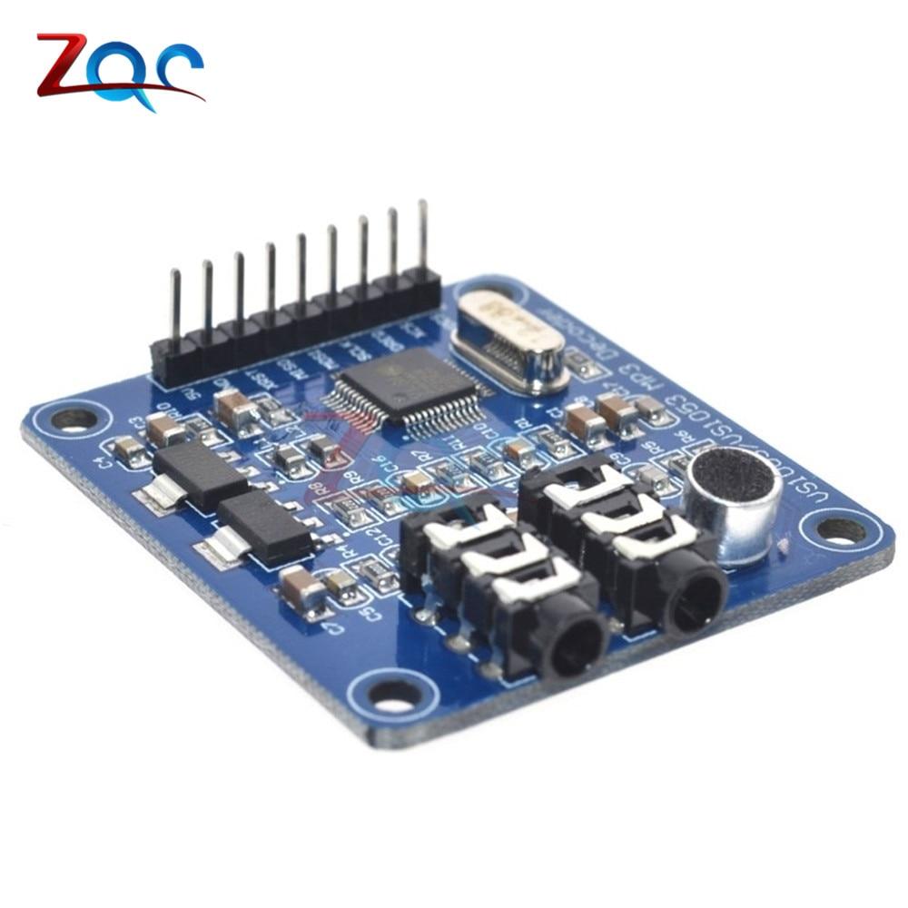 VS1003B VS1053 MP3 Module Development Board Onboard recording Function