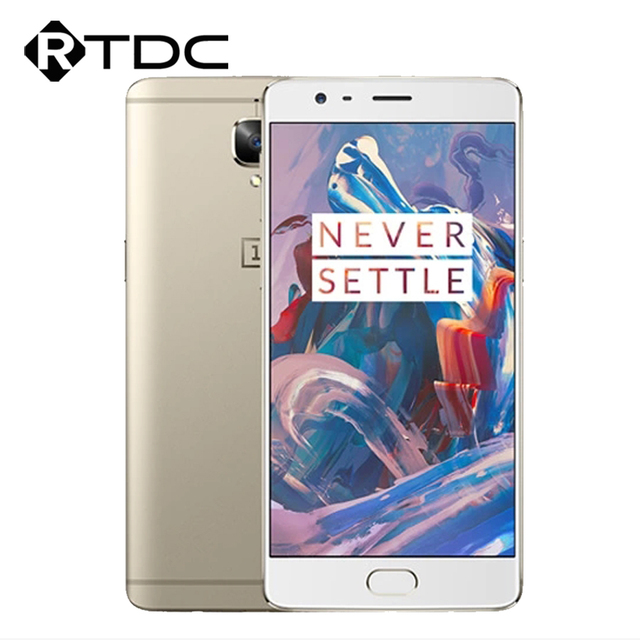 "Original Oneplus 3 A3000 4G LTE Mobile Phone 6GB RAM 64GB ROM Snapdragon 820 Quad Core 5.5""FHD Android 6.0 Fingerprint 16MP"