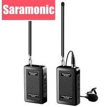 Wywiad Saramonic Lavalier Mikrofon Bezprzewodowy System dla Canon Nikon DSLR Video Camera Sony Dv GoPro Hero 3 3 + 4