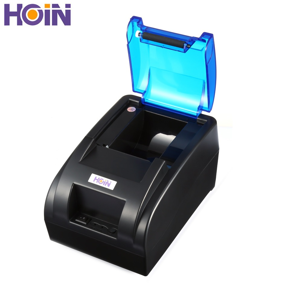 HOIN HOP H58 USB Portable Thermal Printer Receipt Printing Machine Ticket Printer Wired Printing for Android iOS with EU PLUGHOIN HOP H58 USB Portable Thermal Printer Receipt Printing Machine Ticket Printer Wired Printing for Android iOS with EU PLUG