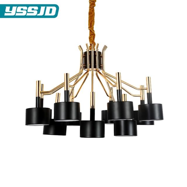 Kunst Moderne LED Aluminiumlegierung Acryl 12 Kopf 15 20 Kronleuchter  Restaurant Wohnzimmer Schlafzimmer Hotel Villa Lampen