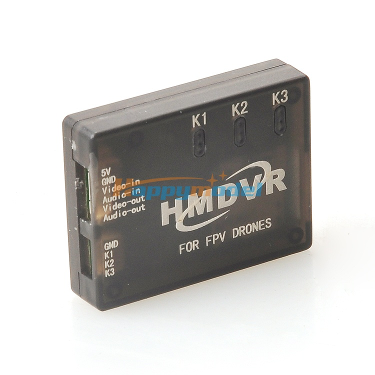 HMDVR FPV Special Mini DVR Video Audio recorder free shipping hmdvr mini digital audio video recorder 30fps for fpv drones quadcopter qav250 kvadrokopter rc drone