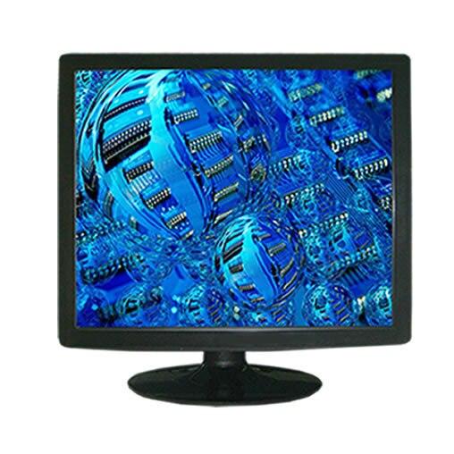 19 дюймов рабочего VGA A / V сенсорный экран Moniotr 4-проводной резистивный сенсорный TFT LCD монитор для пк