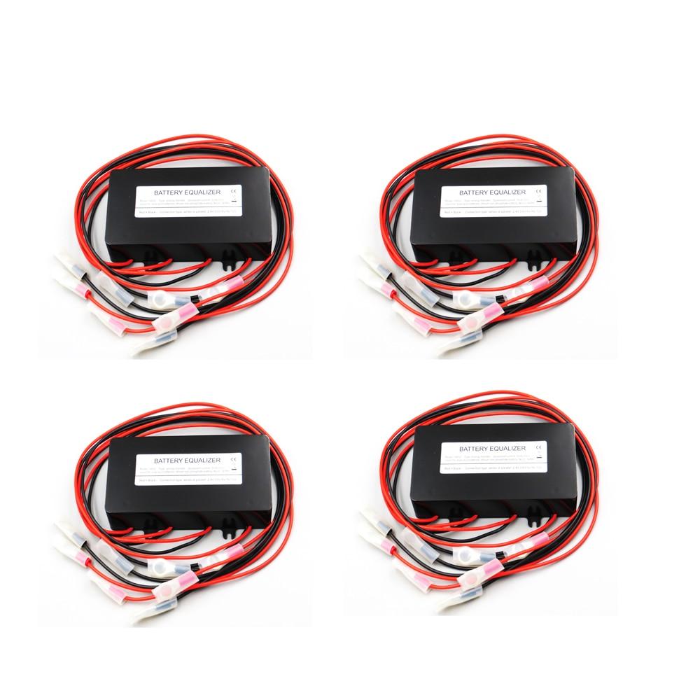 4pcs x 12V 24V 36V 48V Battery equalizer HA02 used for lead acid batteris Balancer charger controller solar