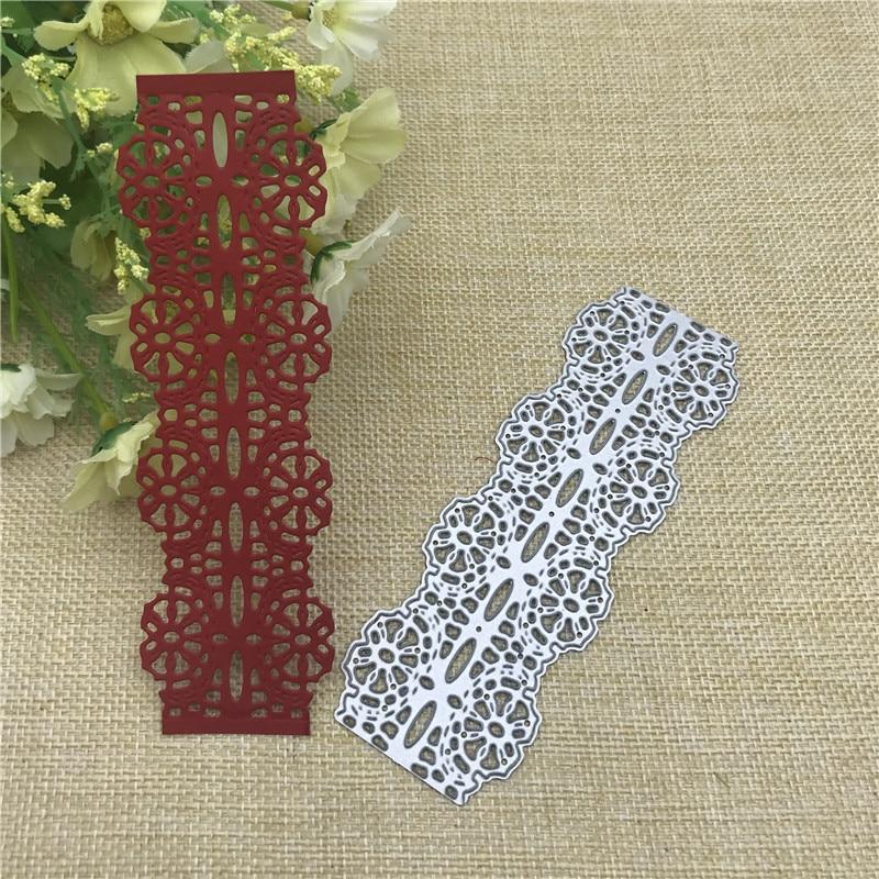 lace flower edge border metal cutting dies stencils for