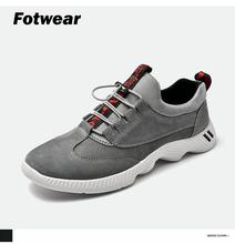 Fotwear Men Leather Sneakers Casual shoes Shock-absorbing rubber outsole provides excellent cushioning Office wearing
