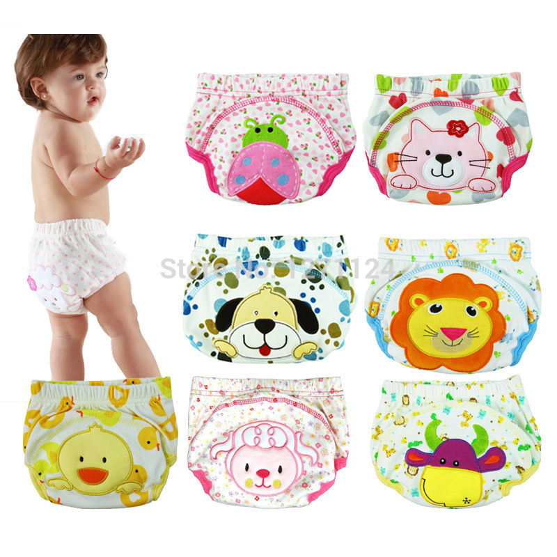 Cloth Diapers Nappy Training-Pants Soft-Covers BEST Infant Baby 1pcs ED258 3-Size 30colors