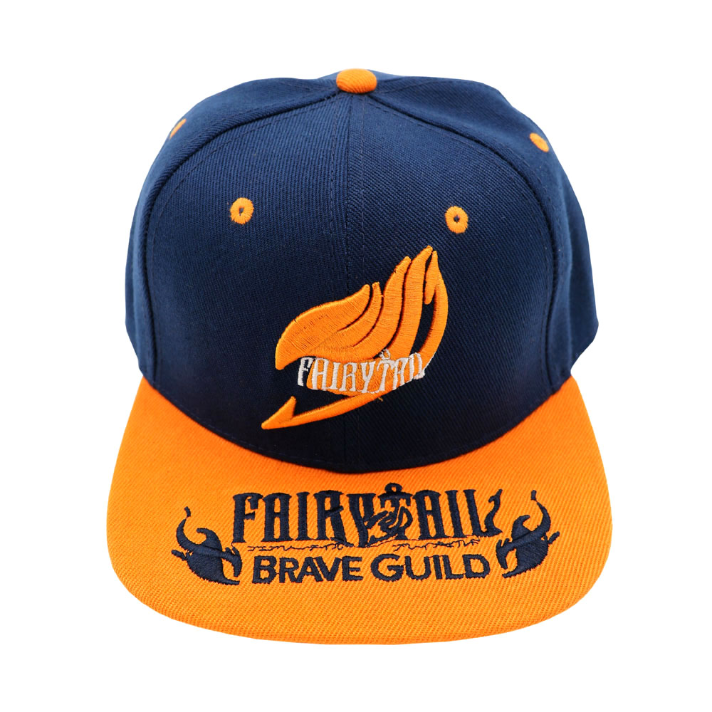 Anime Fairy Tail Adjustable Cap Hip-hop Hot Sale Outdoor Hat With Magic Association Embroidery Mark For Cosplay Gift