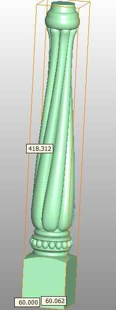 Tabela de mobiliário de gabinete mesa cadeira do sofá cama perna modelo 3D formato de arquivo STL Artcam K64