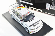 Autoart 1/18 Car Model for 1/18 320I E46 WTCC 2005 Race Sport Car Kid Toys Model Hot Selling Alloy Brinquedos 80548