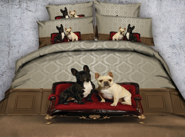 Aliexpress Com Buy Dog Duvet Cover Sets Bedding Set