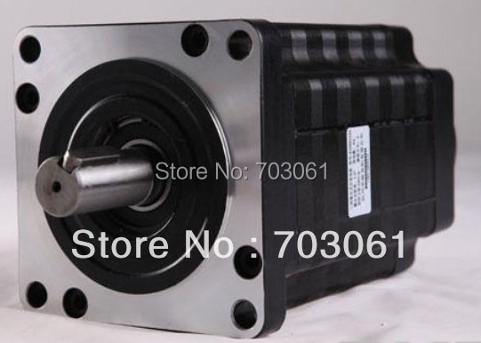 45% discount Three phase high rpm electrical motor stepper motor 130mm flange holding torque 20 N.m 4 A Step Angle 1.2 degree