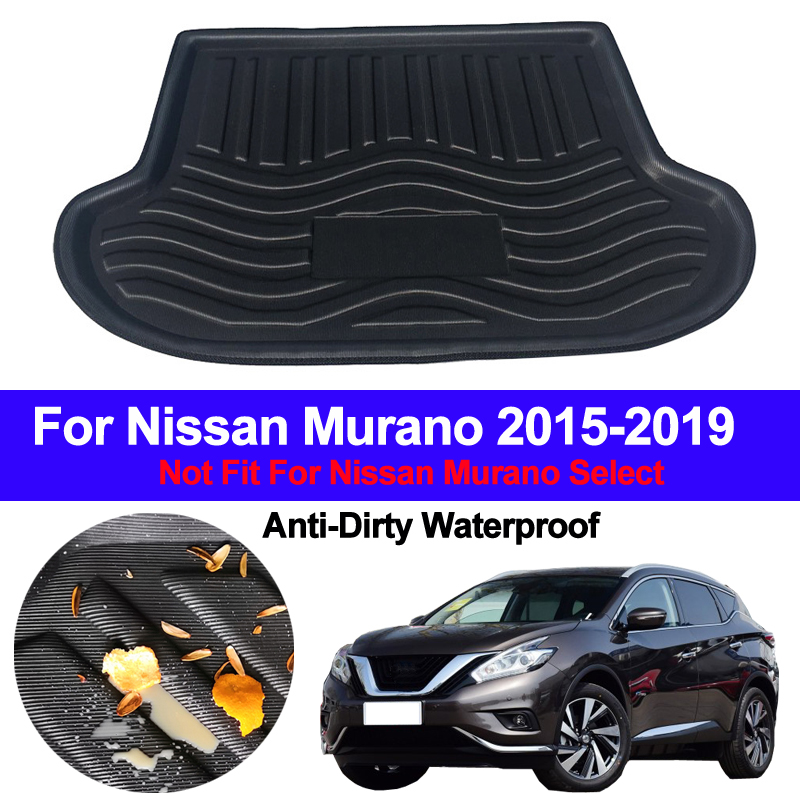 For Nissan Sentra 2008-2018 Car Rear Cargo Boot Trunk Mat Tray Pad Protector