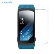 4031c496aa8 Ouhaobin 5 PCS HD Tela de Proteção Filme LCD Inteligente Para Samsung  Engrenagem Fit 2 SM-R360 Elegante de Alta Qualidade Proteg.
