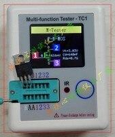 2017 LCR TC1 Transistor Tester TFT Diode Triode Capacitance Meter LCR ESR NPN PNP MOSFET