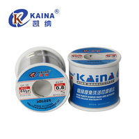 KAINA 0.4/0.5/0.6/0.8/1mm 450g Solder Wire 63/37 Tin Lead Tin Wire Solder Rosin Core Solder Flux Soldering Welding Free shipping