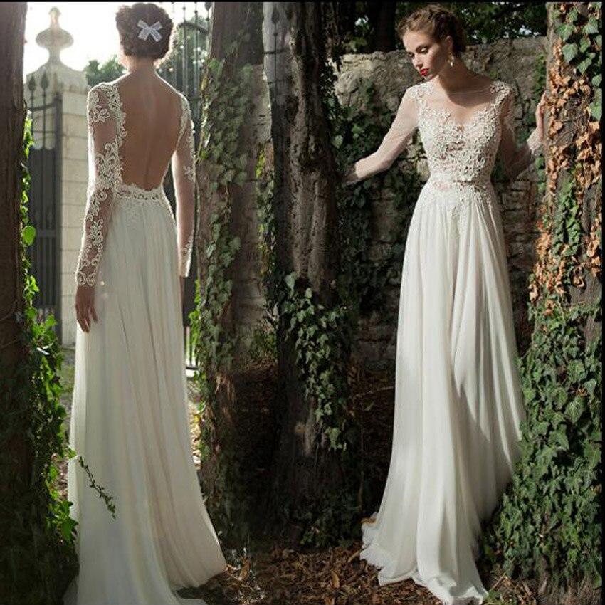 Flowing Wedding Gown: Popular Flowing Wedding Dresses-Buy Cheap Flowing Wedding