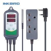Inkbird ITC 308 Heating & Cooling Dual Relay Temperature Controller LCD Digital Thermometer Fridge Freezer Temperature Meter