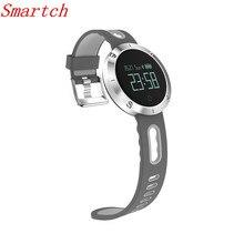 Smartch крови Давление монитор сердечного ритма Смарт Браслет DM58 спортивные здоровья трекер IP68 Водонепроницаемый Bluetooth 4.0 для IOS Androi