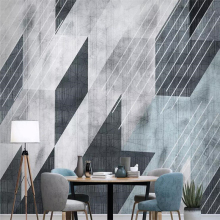 Decorative wallpaper Modern simple abstract lines geometric background wall