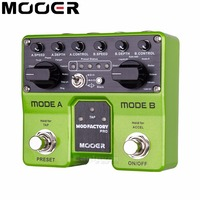 Mooer Mod Factory Pro Modulation Guitar Effect Pedal Digital Effects For Electric Guitar 4 Presets 16