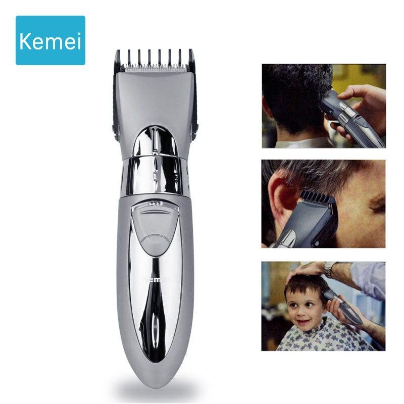 Kemei tondeuse électrique coupe cheveux tondeuse cheveux coupe cheveux tondeuse à barbe outils de coiffage tondeuse rechargeable 3