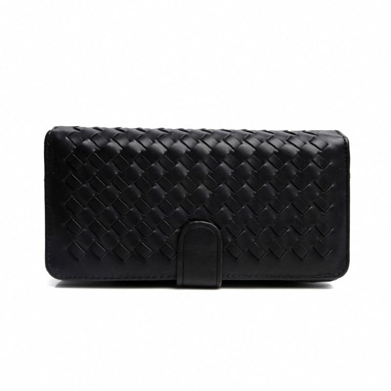 wallet long purse zipper